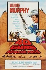 دانلود زیرنویس فارسی 40 Guns to Apache Pass                          1967