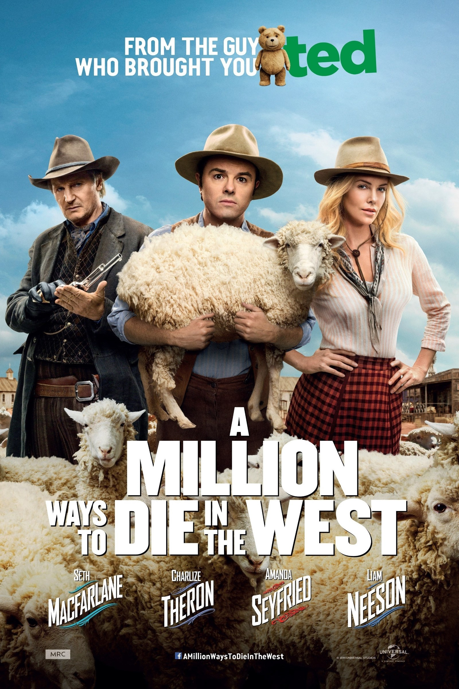 A Million Ways To Die In The West