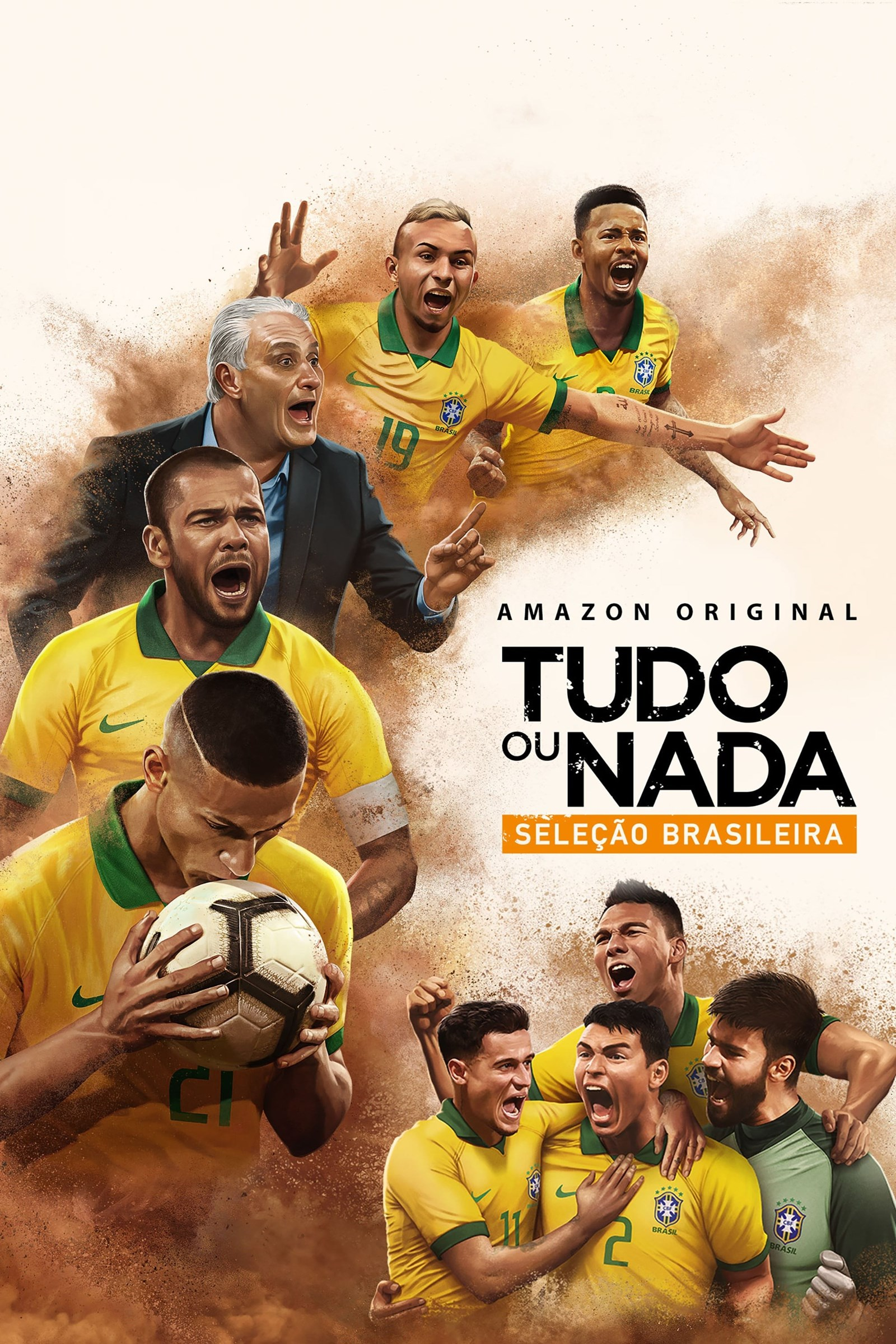 All Or Nothing Brazil National Team S01 PORTUGUESE 1080p AMZN WEBRip DDP5.1 x264-IJP | 17 GB |