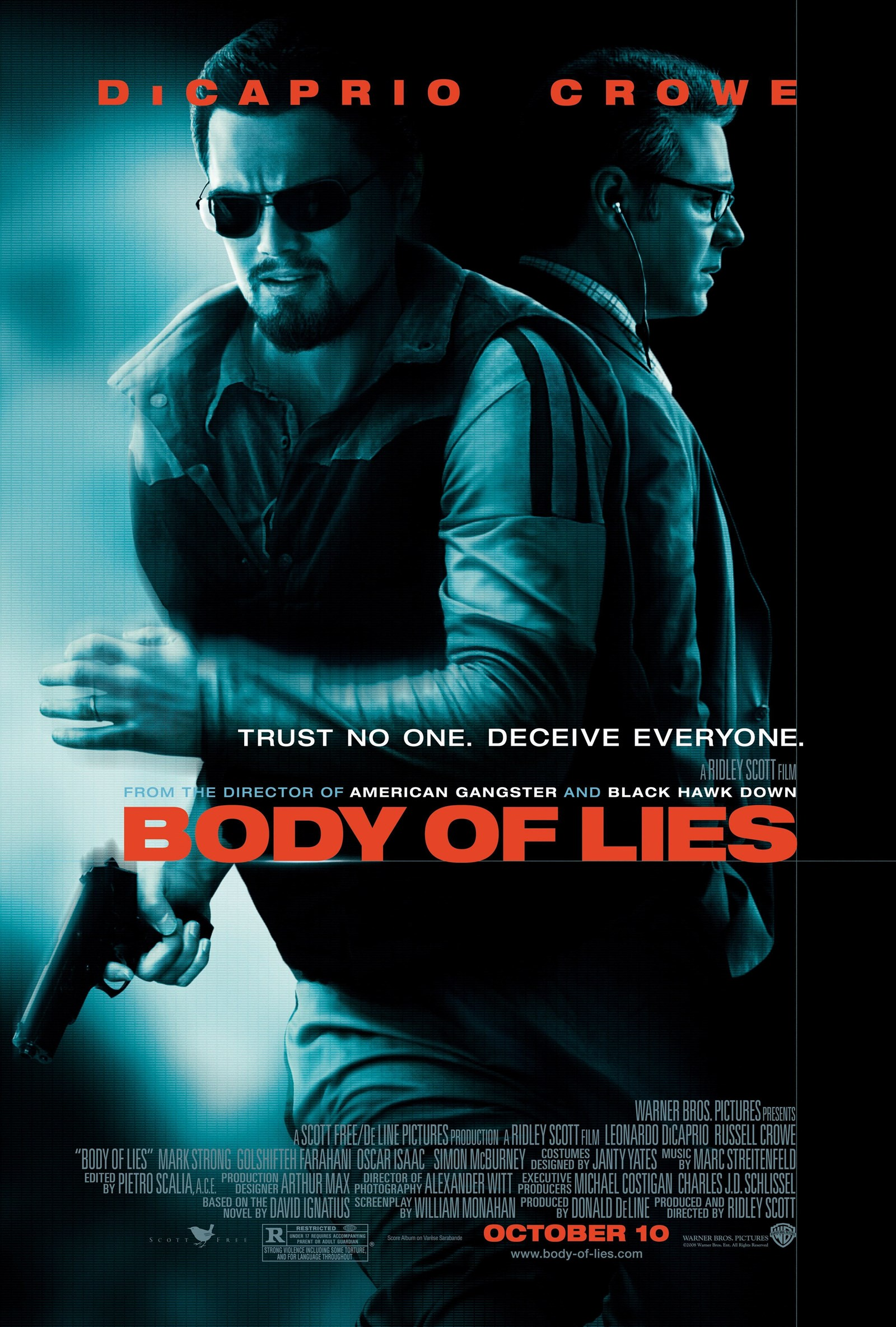 Image result for BODY OF LIES ( 2008 ) POSTER