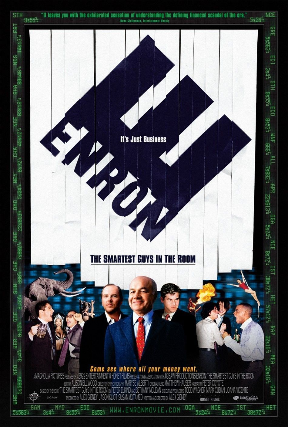 Whatever, it's summer 2. 0 (beta): drinking game of the day: enron.