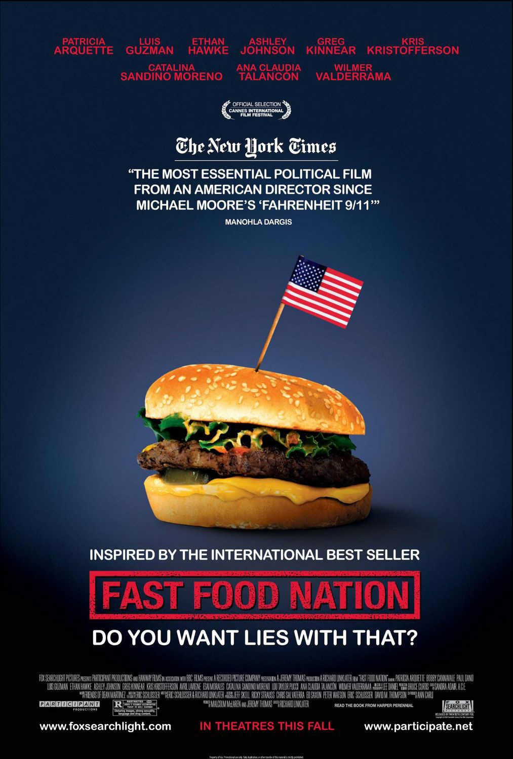 fast food nation themes Home → sparknotes → film study guides film subjects biography biology chemistry  birth of a nation d w griffith.
