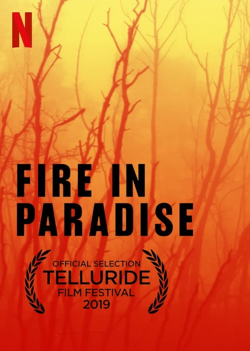 Image result for fire in paradise poster