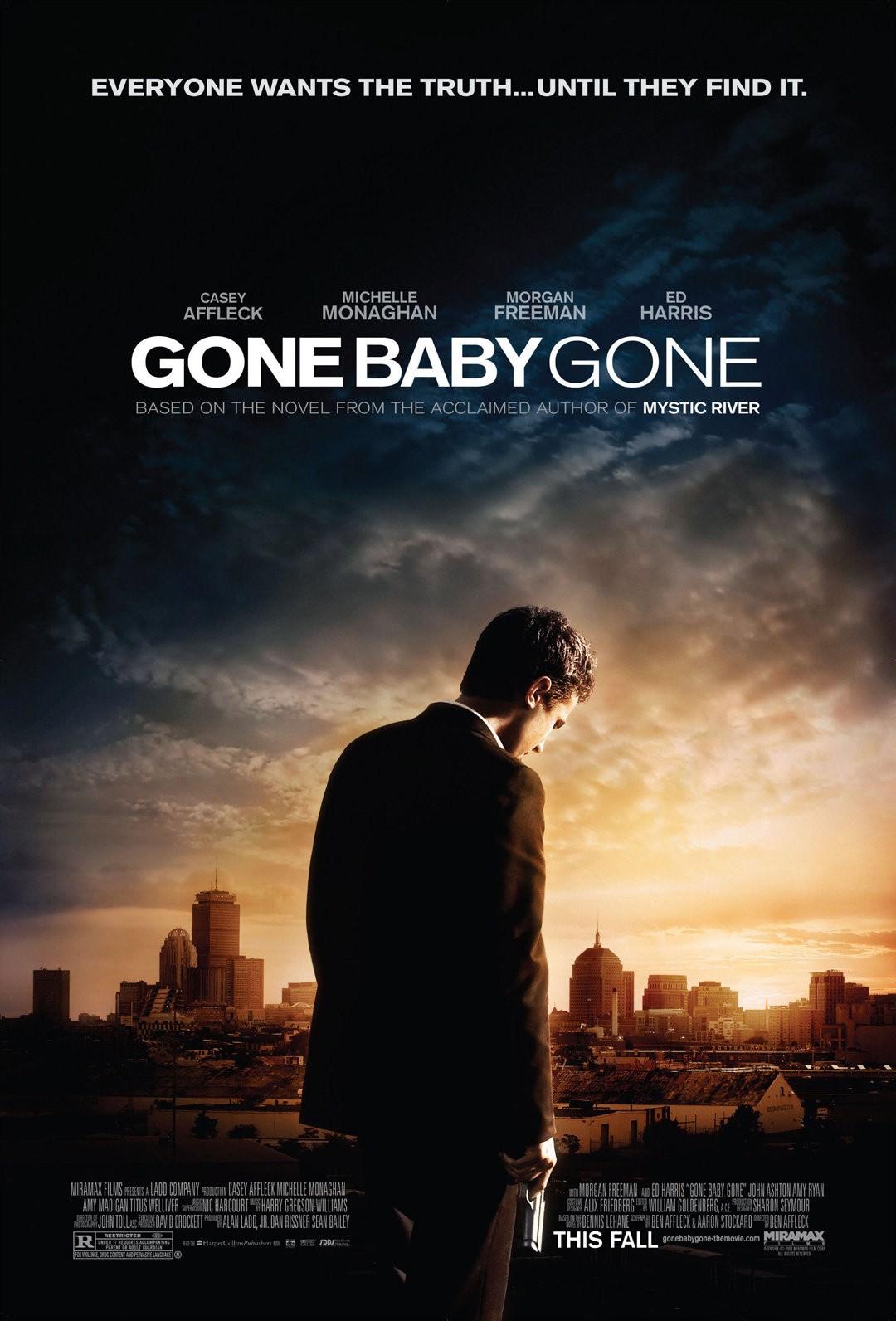 Resultado de imagem para Gone Baby Gone 2007 posters
