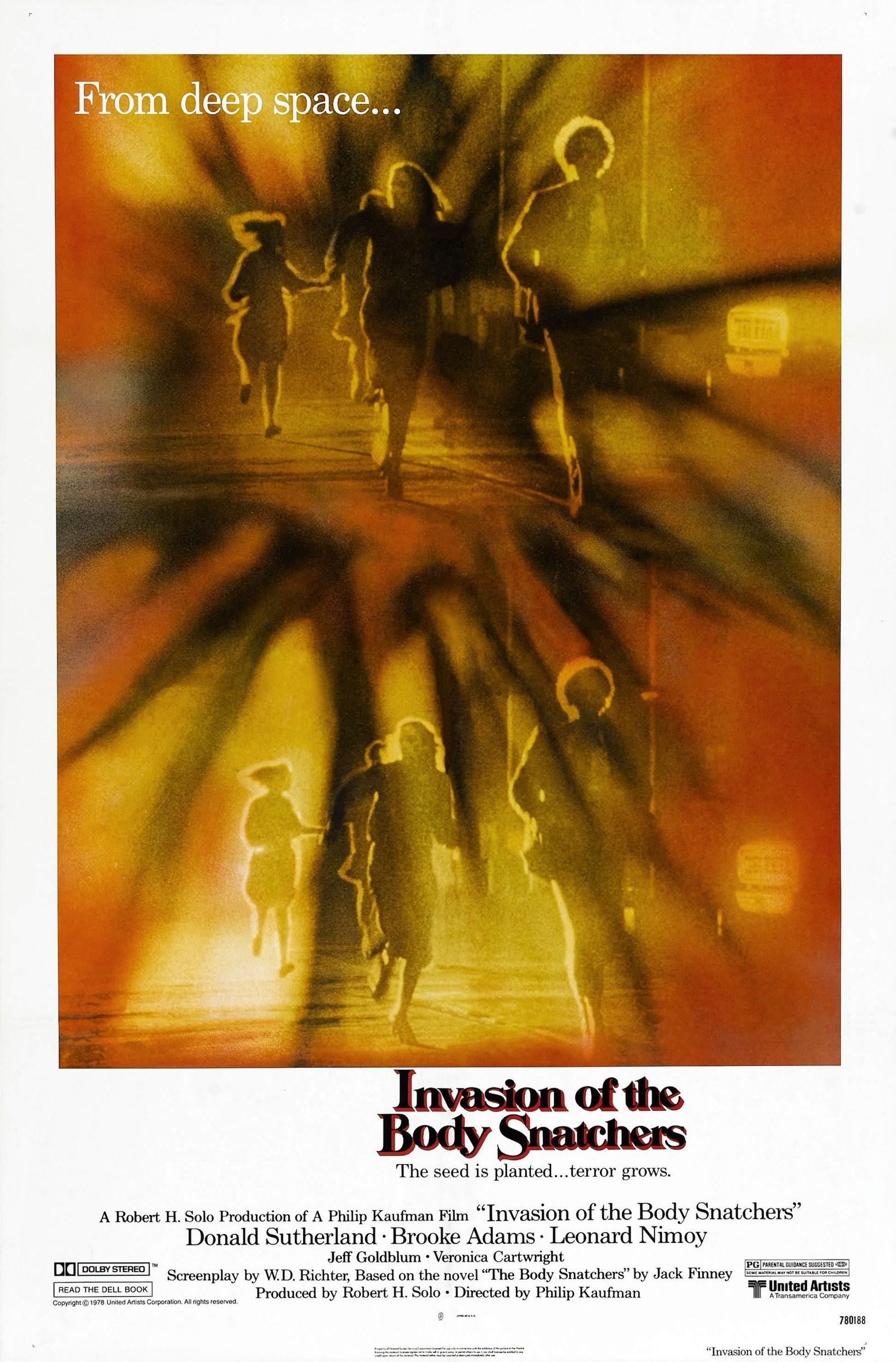 Resultado de imagem para invasion of body snatchers poster 1978