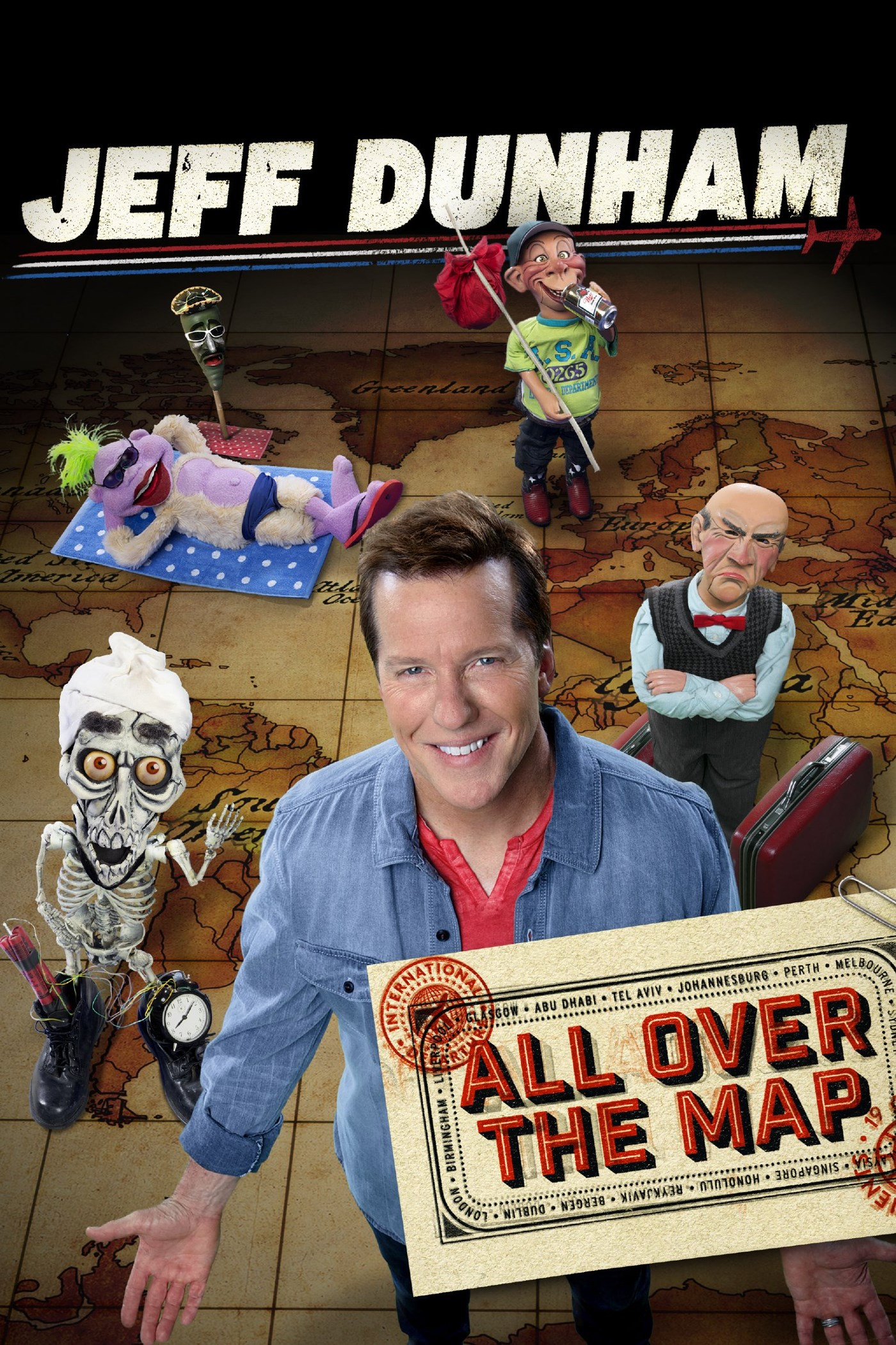 Subscene   Subtitles for Jeff Dunham: All Over the Map