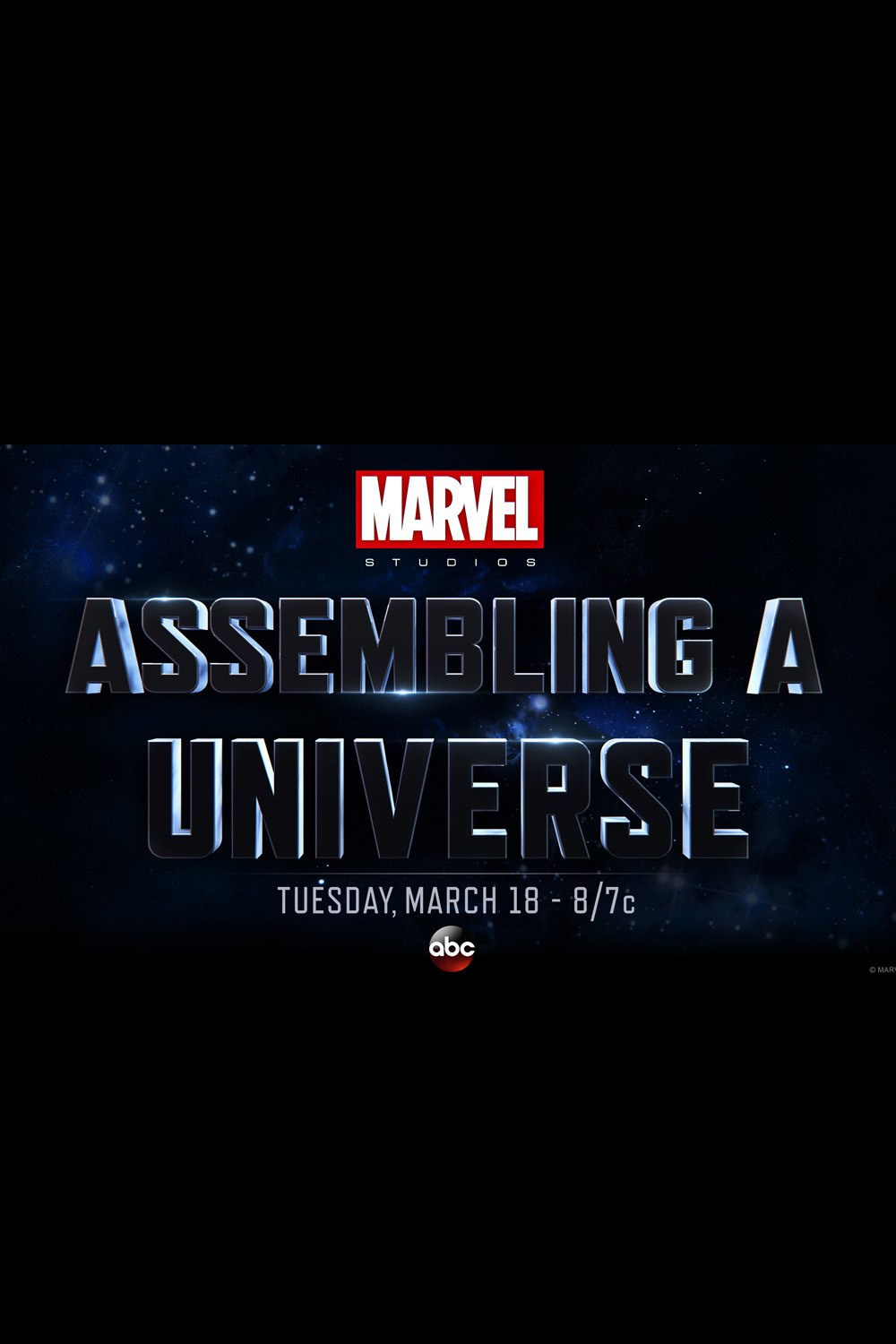 Marvel Studios Assembling A Universe on 3 Way Crossover
