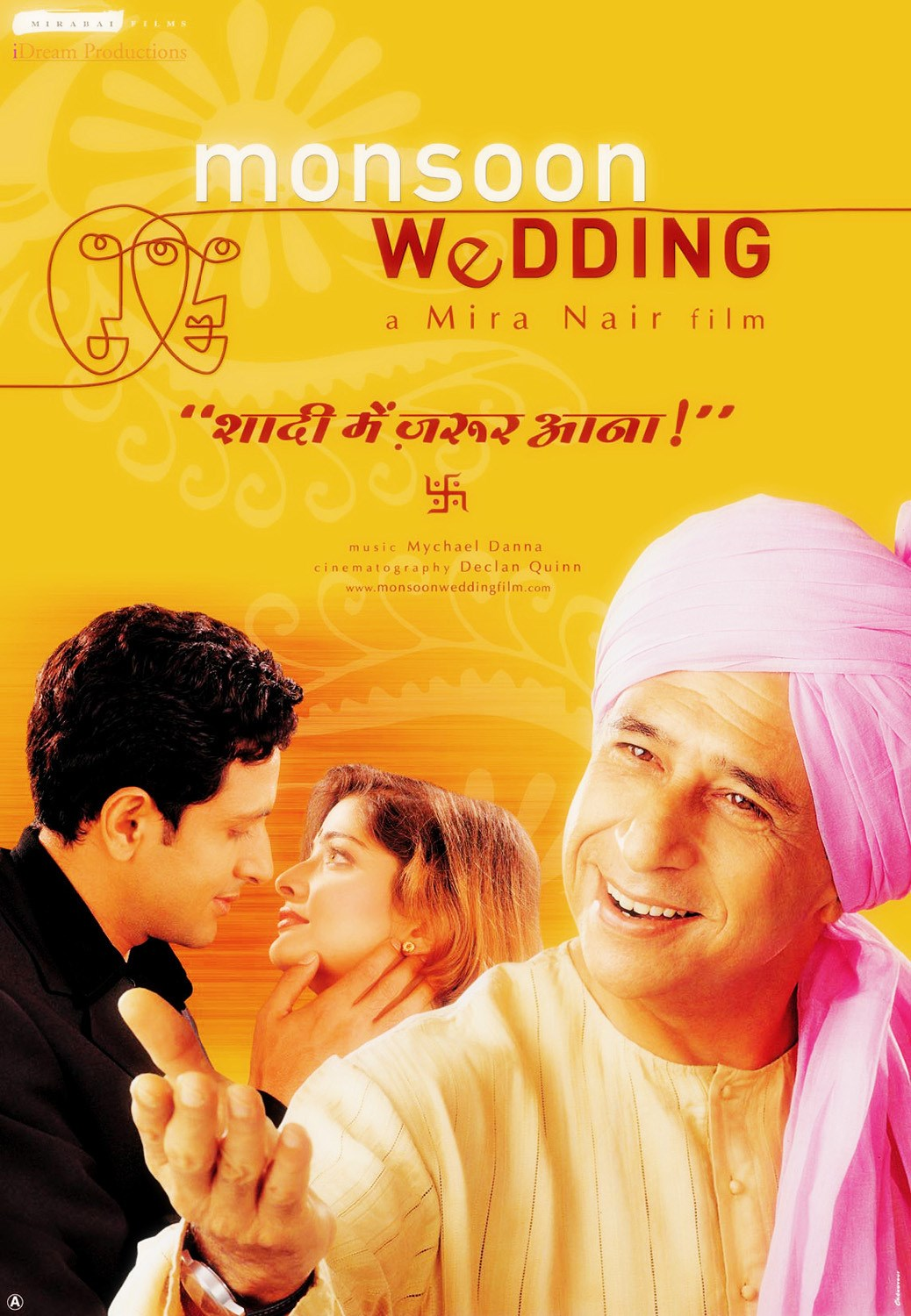 monsoon wedding film analysis Monsoon wedding, which came out in in a film swarming with characters from the credits may even notice that one assistant director rejoices in the first name.