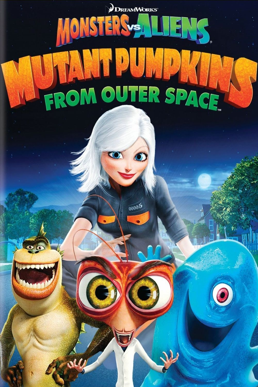 Confirm. happens. Monsters vs aliens remarkable