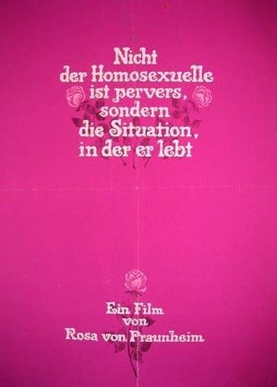 Nicht Der Homosexuelle Ist Pervers Sondern Die Situation In Der Er Lebt