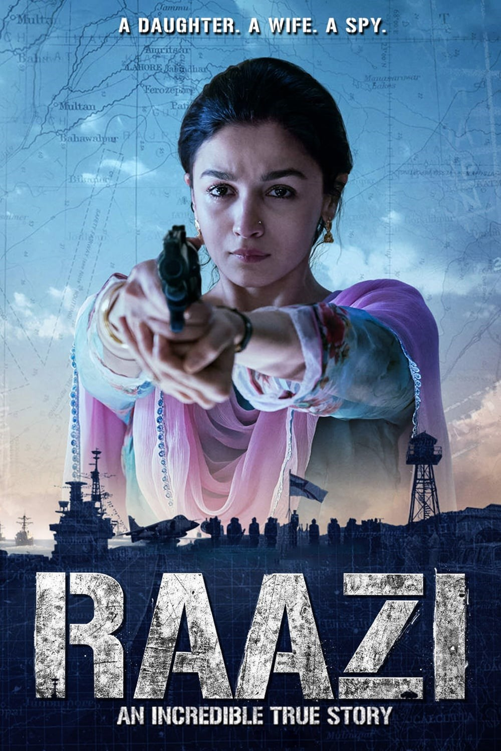 Raazi (2018) Hindi HDRip 700MB ESubs MKV