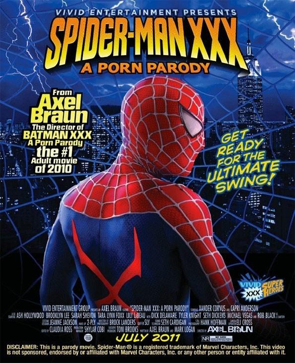 Spiderman noir chat porno