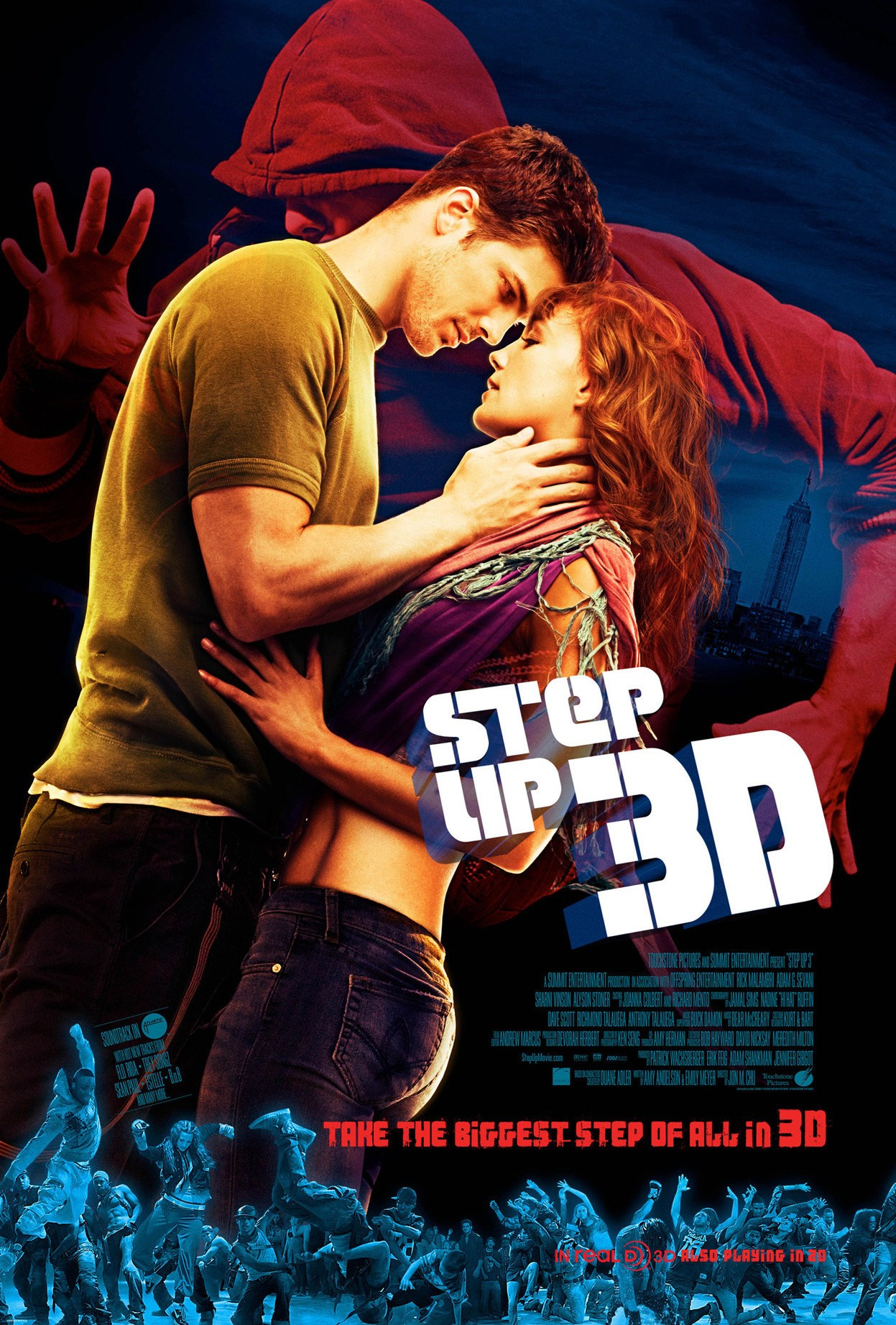 Step Up Steps: Subtitles For Step Up 3D