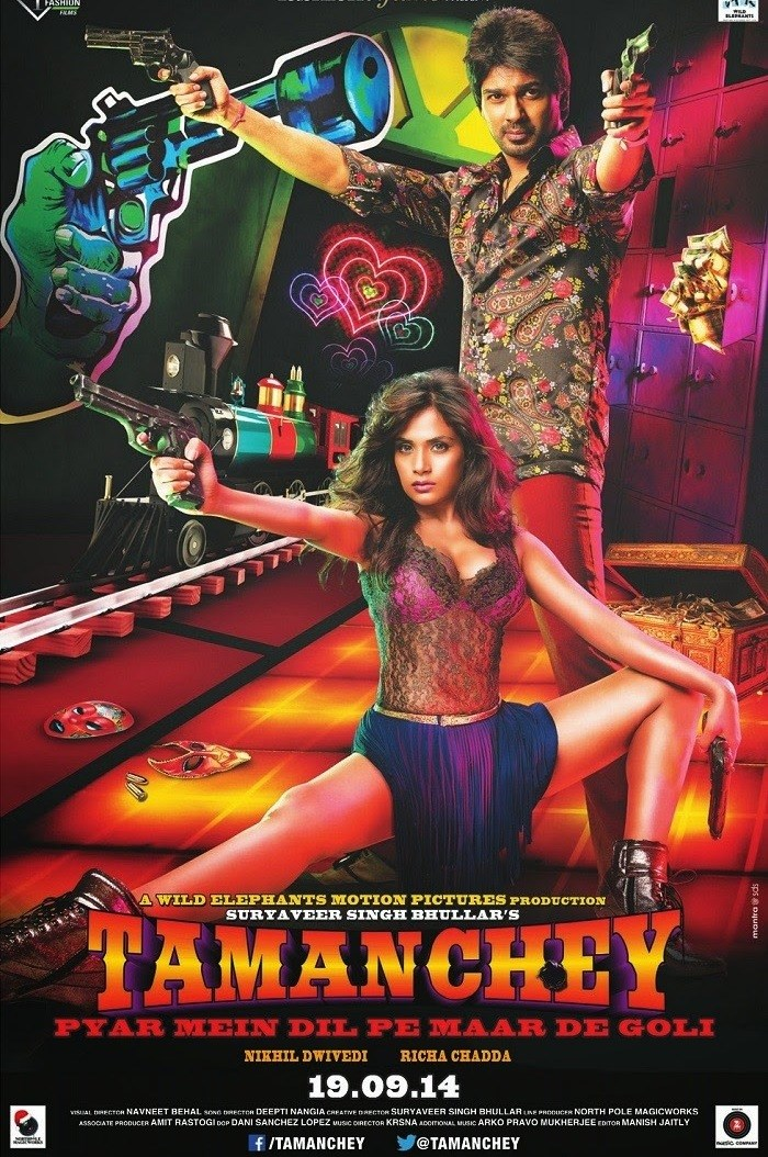 Tamanchey 2014 Hindi 720p 950MB WEB-DL AAC MKV