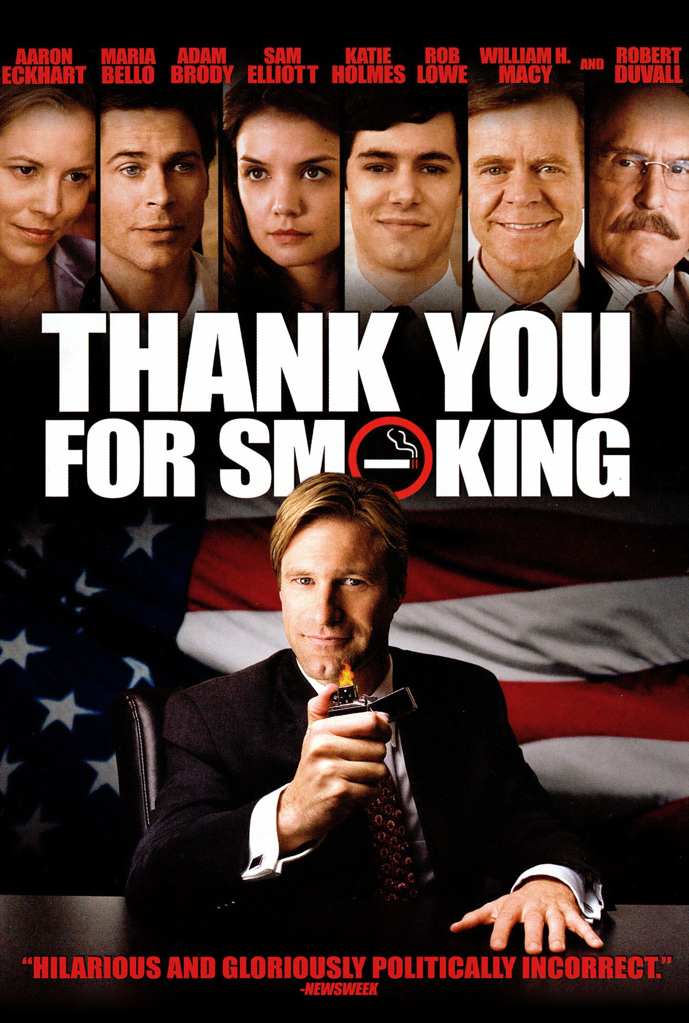 an analysis of thank you for smoking an informative film Watch a cinematic movie and critique the business ethics dilemmas the movie i chose was thank you for smoking staring aaron eckhart (nick naylor) as a.