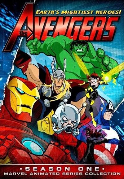 Avengers: Pot�ga i moc (sezon1) (2010) PL.TVRip.H264 / Dubbing PL*dla EXSite.pl*