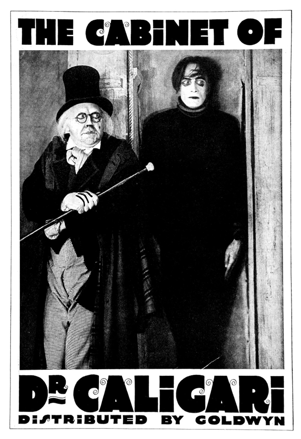 Verdoux the cabinet of dr caligari 1920 - The cabinet of dr caligari cesare ...