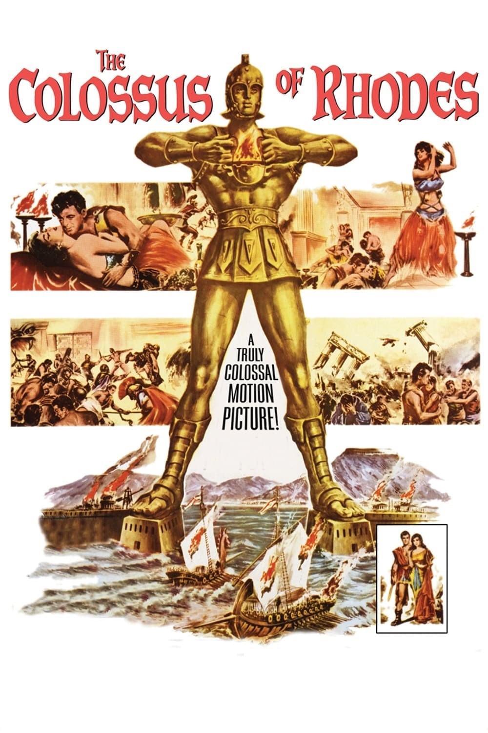 where is the colossus of rhodes located