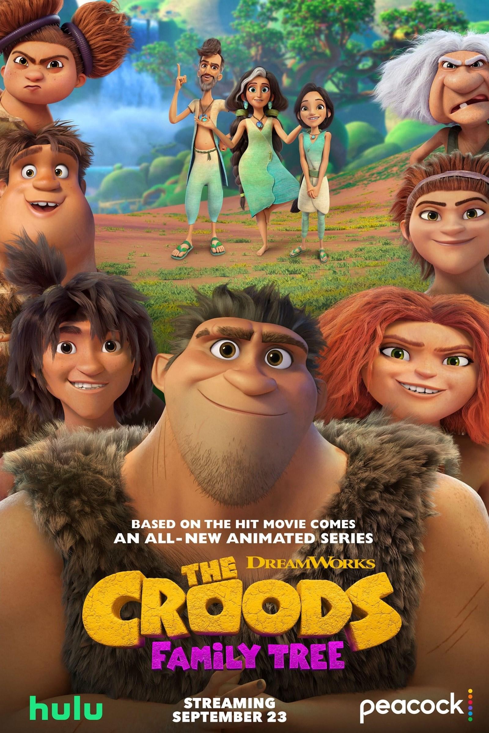 The Croods Family Tree (2021) Season 1 WEB-DL