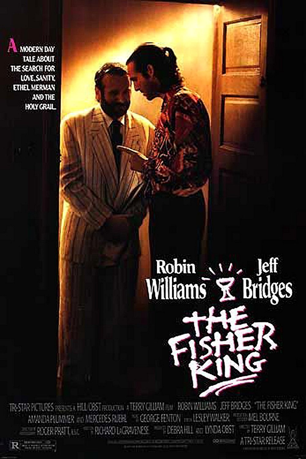 the fisher king The fisher king is one of those very special films we're unable to forget or even  describe objectively it's a dreamlike, magical episode cut out of the lives of.