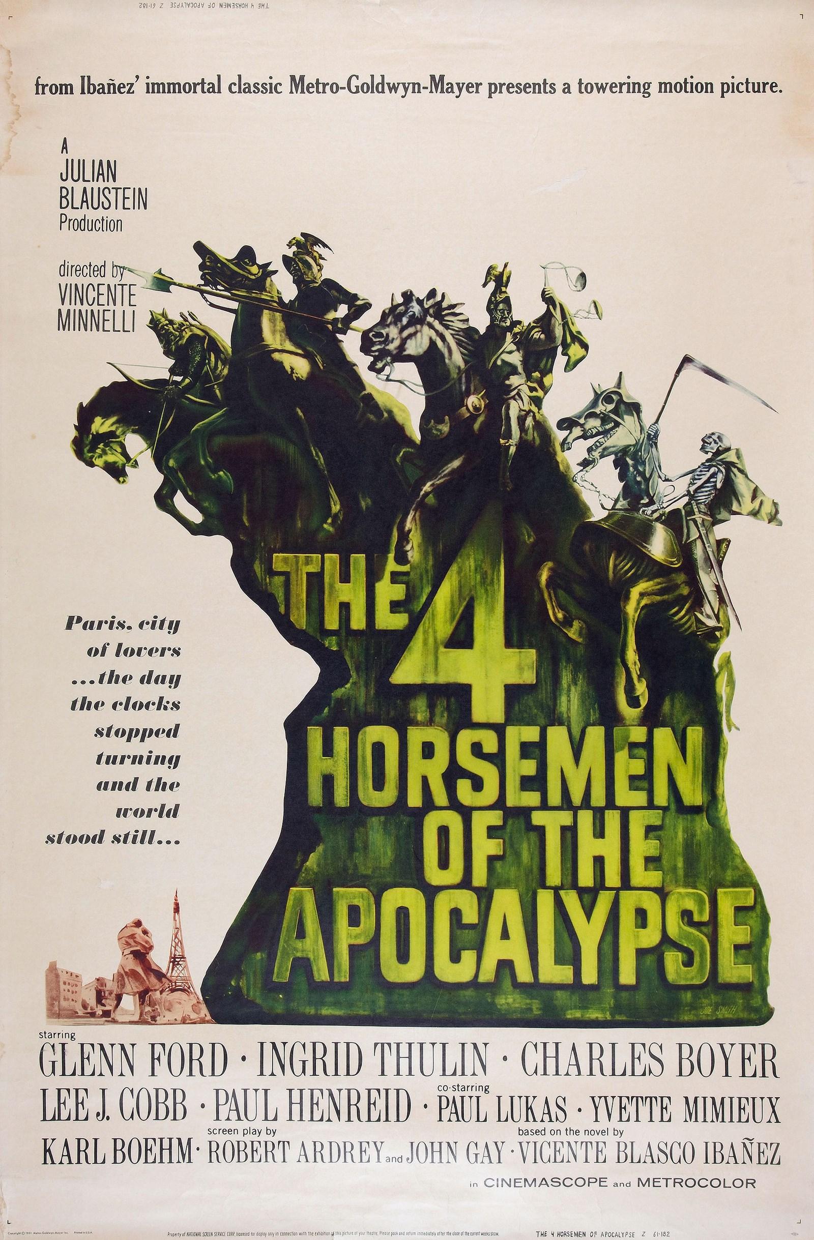 Subscene - The Four Horsemen of the Apocalypse English subtitle