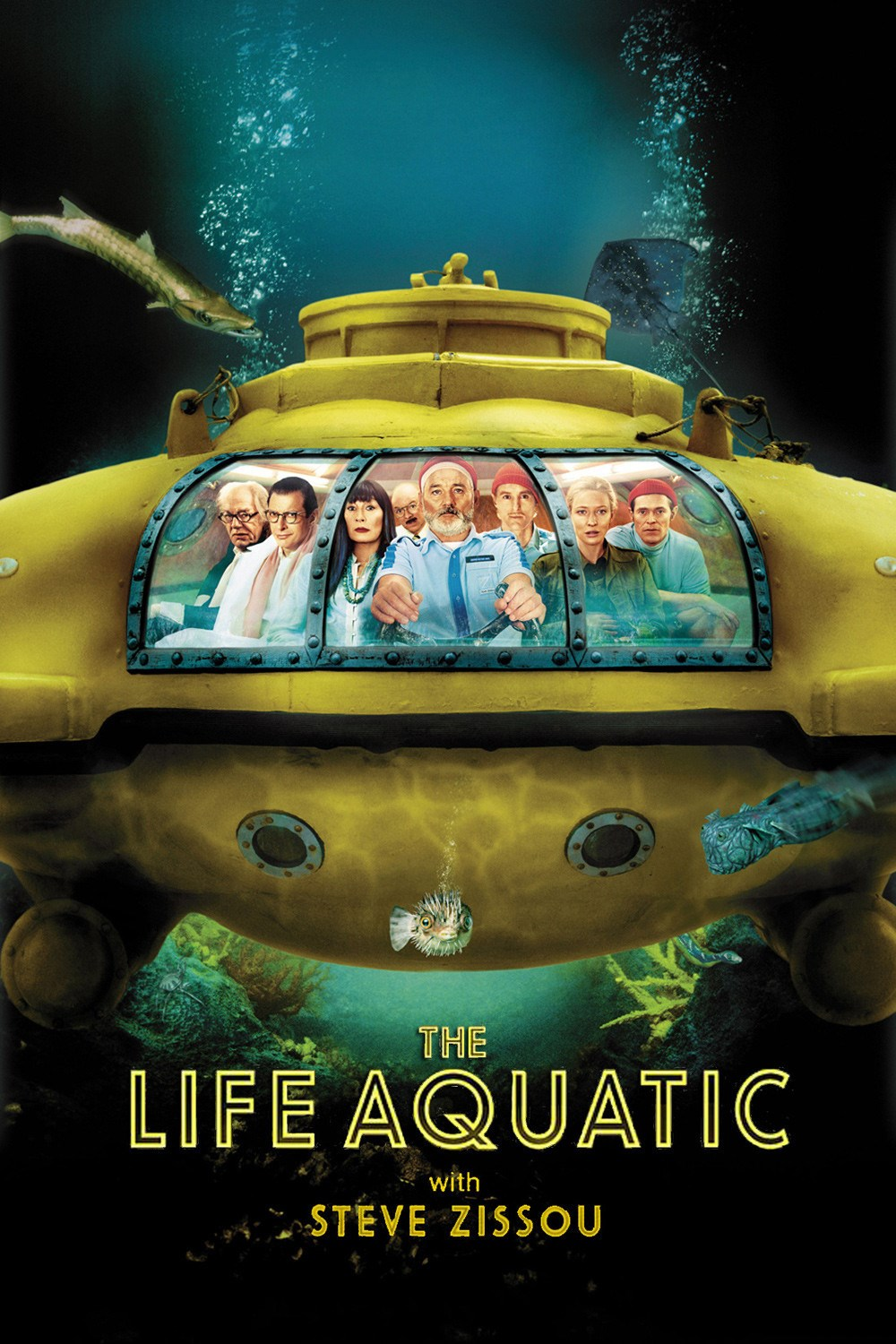 The Life Aquatic With Steve Zissou The Criterion Collection Movie free download HD 720p
