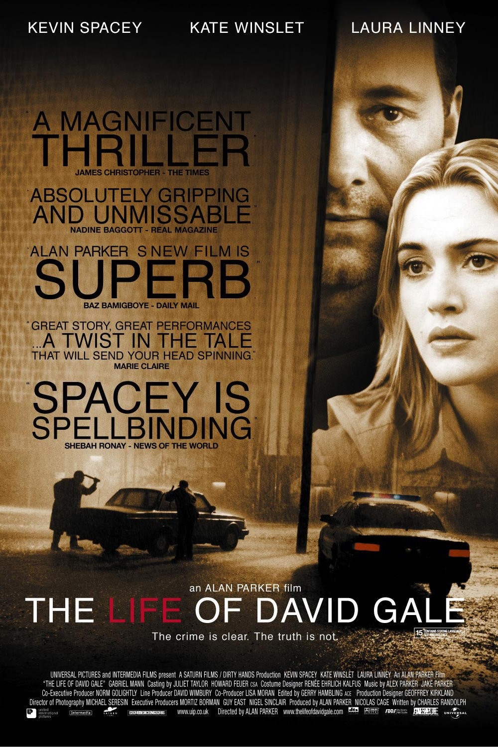 The Life Of Adventure: Subtitles For The Life Of David Gale