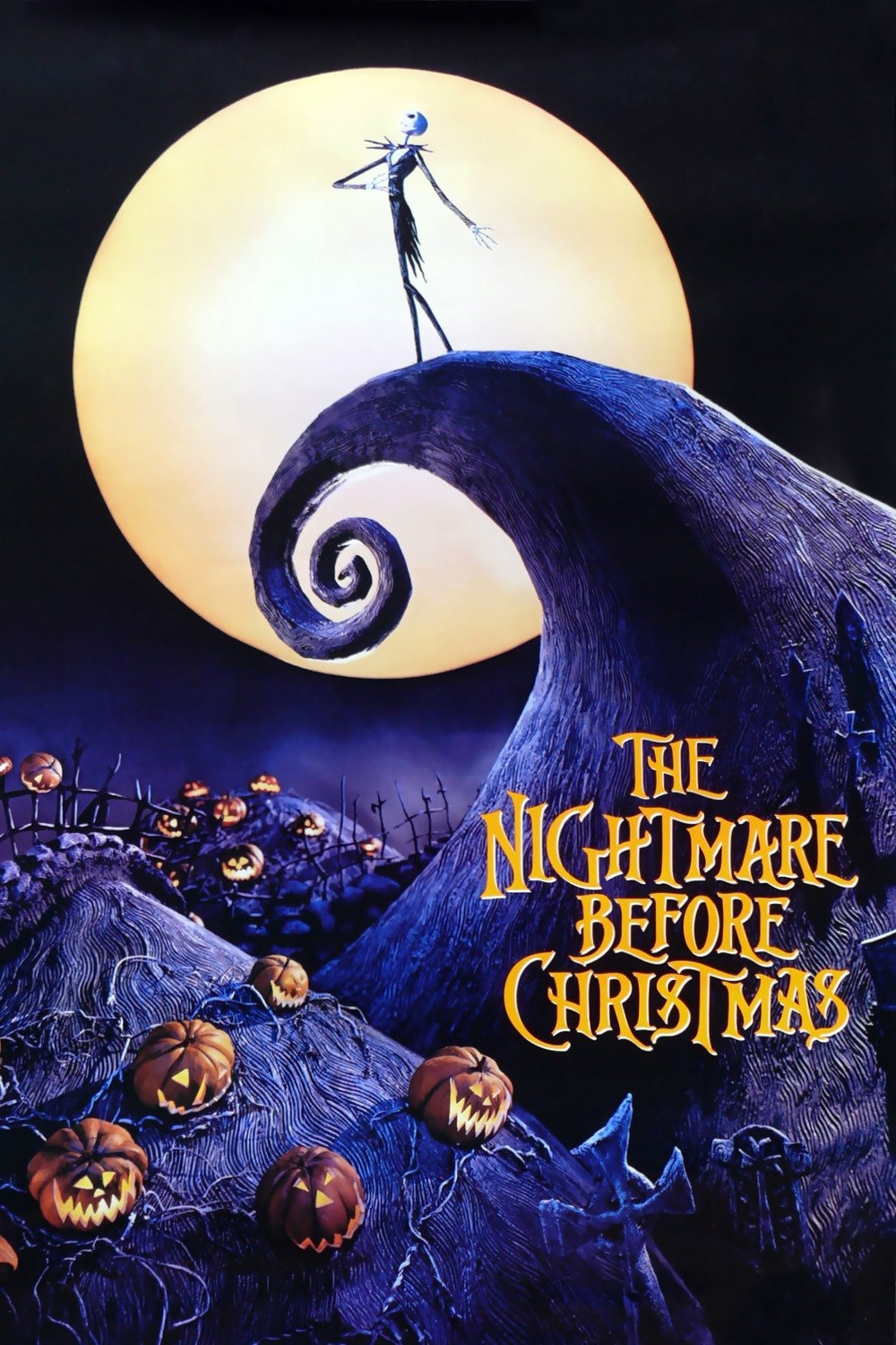 The nightmare before christmas dvdrip animation fantasy 1993 xvid