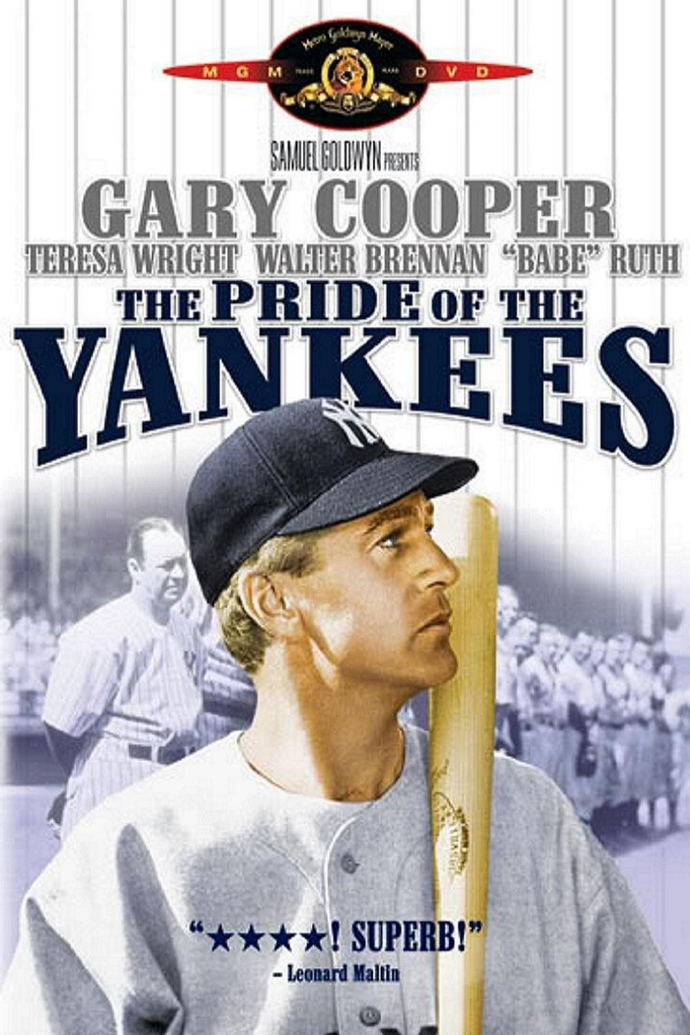Image result for THE PRIDE OF THE YANKEES POSTER