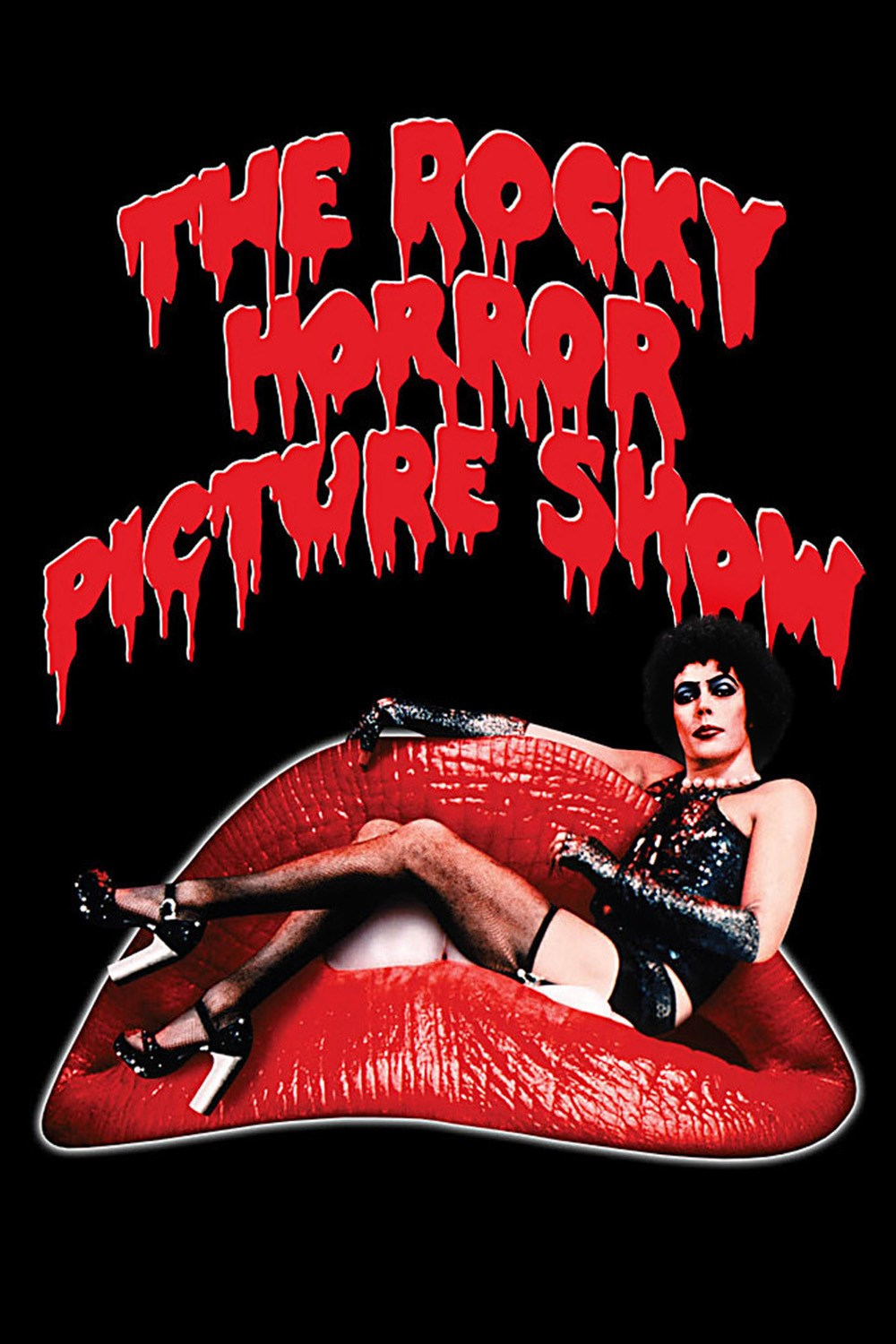 Image result for rocky horror picture show poster