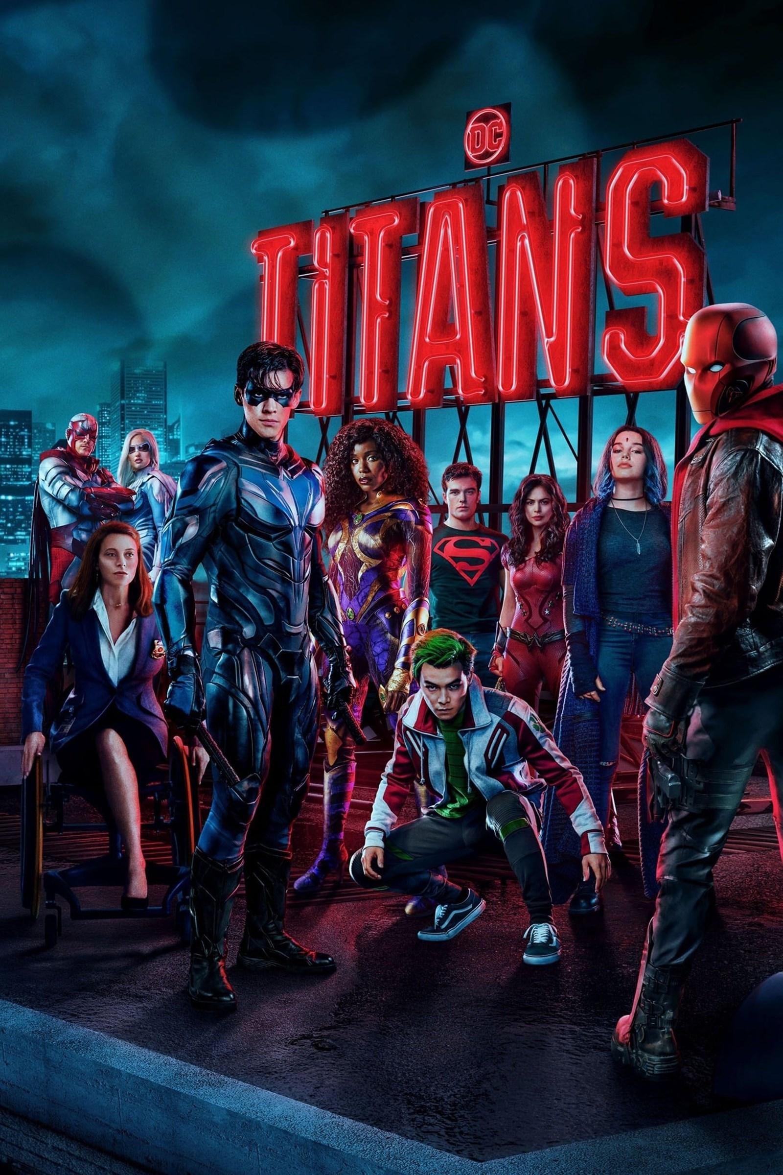 Titans Season 3 WEB-DL