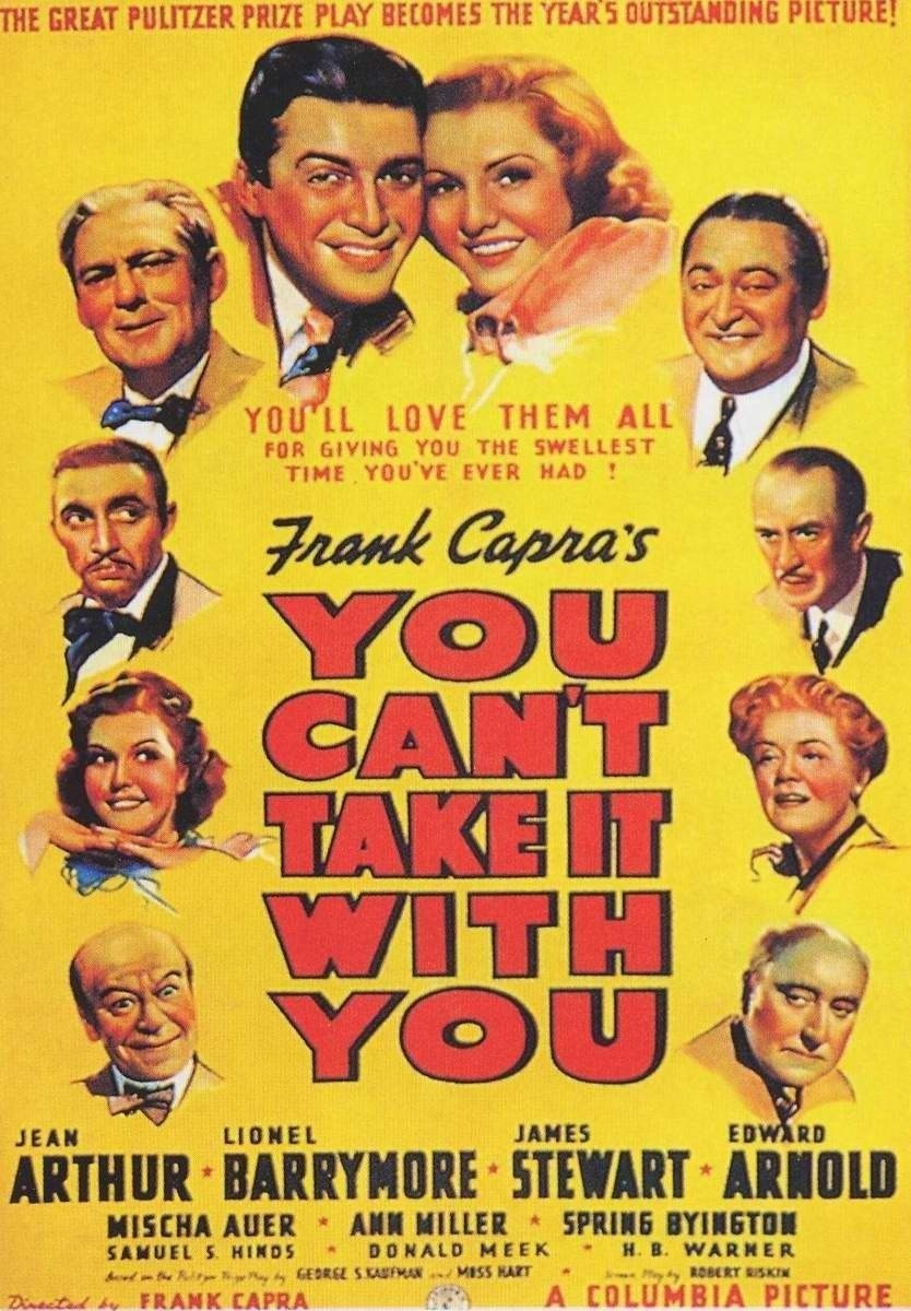 an overview of the play you cant take it with you by moss hart and george s kautman Get all the details on you can't take it shmoop premium summary shmoop premium with you, which was adapted from a play by moss hart and george s kaufman.